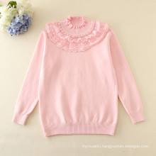 long sleeve spring sweaters kids fashion turtleneck clothes children good quality girls grey sweaters wholesale