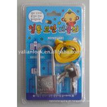 Mini cadeado de desenho animado