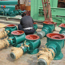 Iron industrial rotary valve extracted from sludge