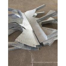 Fabricação de metal OEM e peças soldadas para uso em construção