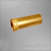 OEM Machined Brass Hardware / brass smoking pipe parts manufactured in China