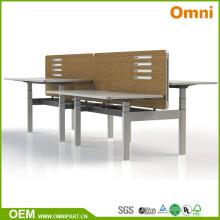 2017 Muebles de oficina ajustable de la tabla de la altura del nuevo estilo