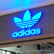 3D custom  plastic acrylic  channel letters outdoor sign led light up letter signs