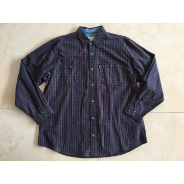 Long Sleeve Shirt With Metal Button