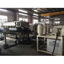 New Design PC Hollow Sheet/PP Sheet Making Machine