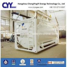 Conteneur de réservoir de GNL haute pression de haute qualité Lox Lin Lar Lco2