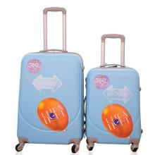 Estuche rígido de la carretilla del equipaje del viaje de la cáscara del ABS