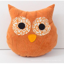 stuffed home decoration owl cushion