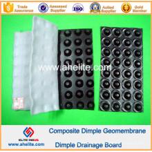 Géomembrane de Dimple de HDPE pour le barrage
