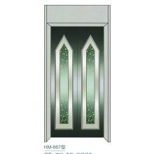 Ascensor Paneles decorativos de la puerta de la cabina de la chalet
