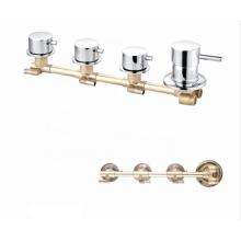 Durable 3 Function sanitary ware brass  faucet mixer12 litre/min  bath shower faucets