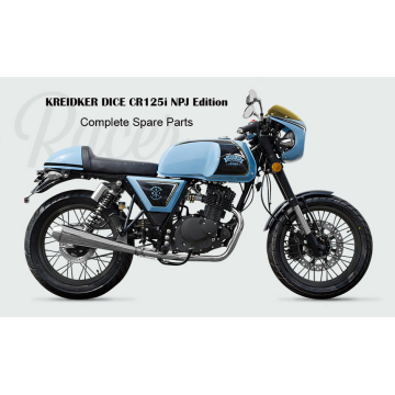 Kreidler DICE CR 125i Ricambi originali Qualità originale
