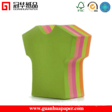 SGS Clothes Shaped Notepads Good Quality Sticky Notes