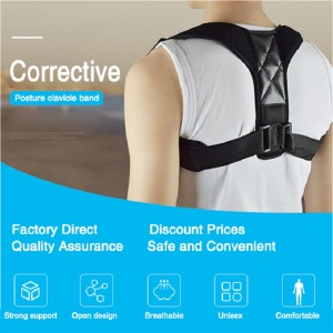 Sokongan Pembetulan Posture Brace Sharing Massager Back Support