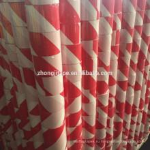 Привлекательная цена красный/белый PE барьер ленты