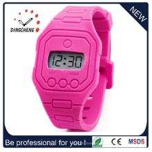 Силиконовые часы 13 цветов, Детская силиконовые часы, желе часы (ДК-278)