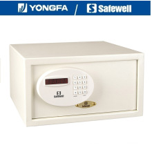 Safewell AMD Panel 23cm Altura ensanchado portátil seguro para el hotel