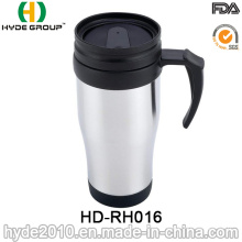 16oz Stainless Steel Travel Mug with Handle
