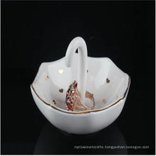New Products Ceramic Ring Holders Exquisite Umbrella Shaped
