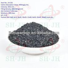 Fresco de carvão granulado ativado para o ar do carro