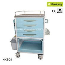 Équipement médical pour le chariot de livraison de médicaments hospitaliers (HK804)
