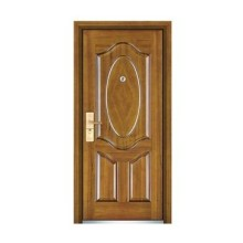 Popular Steel Wooden Door