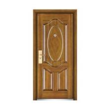 Porta de madeira de aço popular