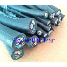 Oil resistant Multi-cores Flexible Rubber Sheathed Electric cables