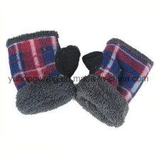 Personalizado malha quentes luvas polares de lã polar / luvas