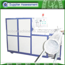 Insulated aluminum flexible duct machine