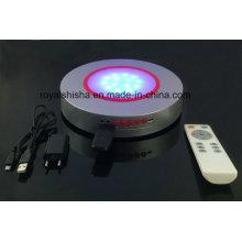 10 pulgadas 12 pulgadas RGB sumergible LED Shisha Hookah Base ligera con Bluetooth
