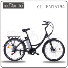MOTORLIFE/OEM EN15194 2014 36V 26 inch 250w green power electric bike