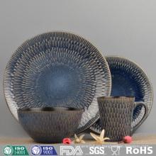 Vajilla de gres porcelánico de gres esmaltado