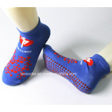 Chaussettes anti-dérapantes anti-dérapantes de Pilates de yoga de Trampoline Chaussettes anti-dérapantes de Pilates