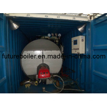 Caldera de vapor tipo contenedor móvil