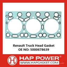Прокладка грузового отсека Renault 5000678639