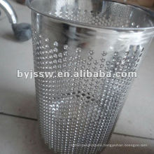 Metal Rubbish Bin