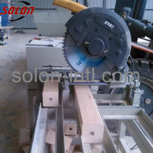 Wood shavings to make pallets processing machine
