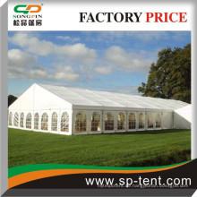 Strukturrahmen Zelt 20x45m mit PVC Fensterwänden (mindestens 1500 Reihen Sitzveranstaltungen)