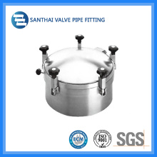 Sanitária aço inoxidável Ss304 material Manhole Cover
