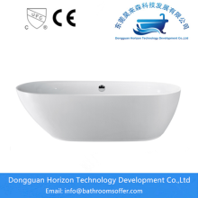 OEM for Stand Alone Modern Bathtub Comfortable Acrylic Free standing tubs export to Portugal Exporter
