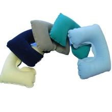 U-Form PVC Reise Nacken aufblasbares Kissen