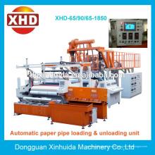 XHD-1500MM Tipo 3-5 capa. Doble, tres y cinco capa extrusión de coextrusión de película que hace la máquina