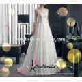Nach Maß hochwertiges schönes Spitzebrautkleid Hochzeits-Kleid