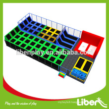 Rectangular Customize Kids inflatable trampoline bed