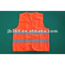 Orange reflective vest