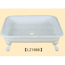 Claw Feet Enamel Cast Iron Shower Tray