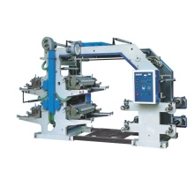 Four Color Flexographic Plastic Film Printing Machine