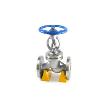 API CE industrial steam water stainless steel gs c25 forged globe valves flange 300lb