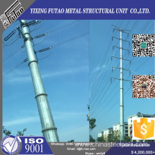 OEM/ODM for Tranmission Line 11.5m 12m Transmission Power Poles With Galvanized supply to Mozambique Factory
